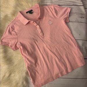 Lauren Ralph Lauren Pink Polo Men's Size Medium